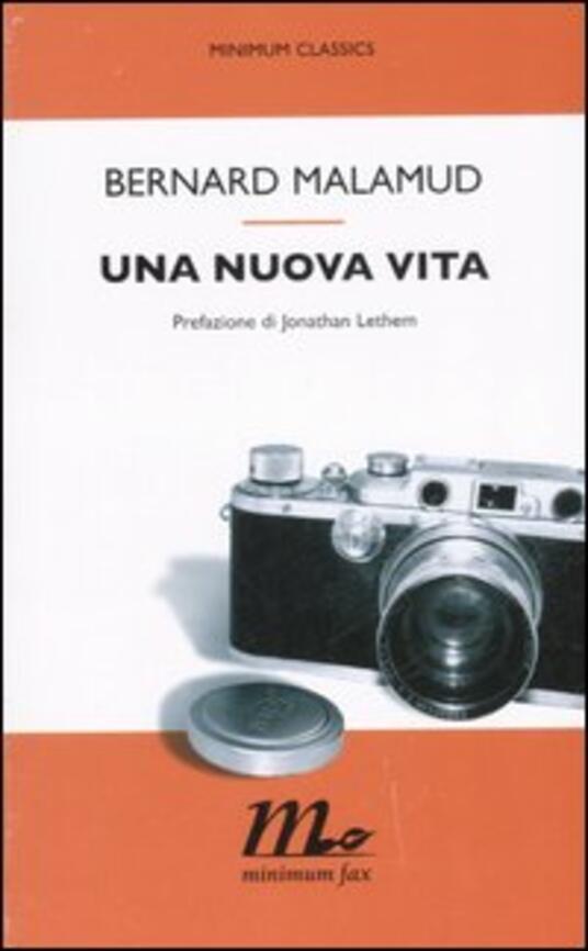 Una nuova vita - Bernard Malamud - copertina
