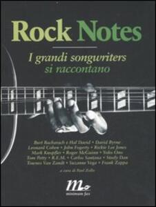 Rock notes. I grandi songwriters si raccontano