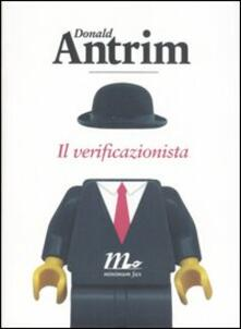 Il verificazionista - Donald Antrim - copertina