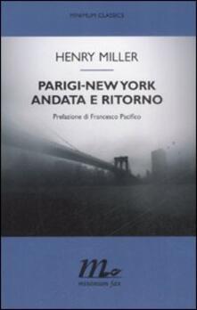Librisulladiversita.it Parigi-New York andata e ritorno Image