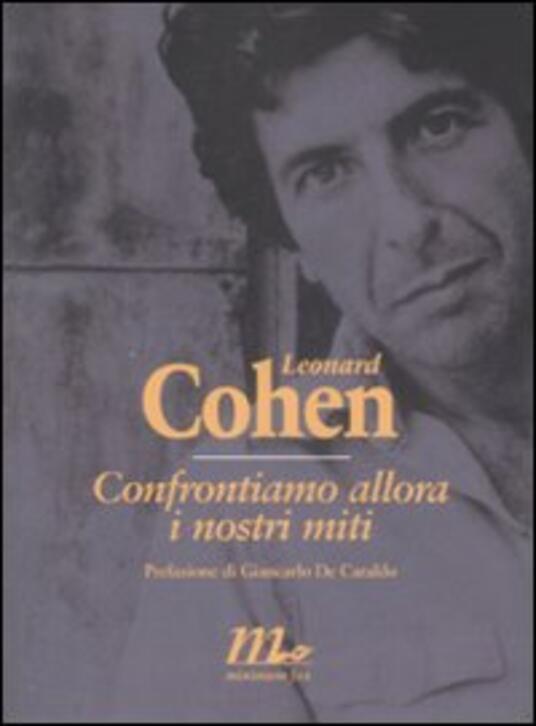 Confrontiamo allora i nostri miti - Leonard Cohen - copertina