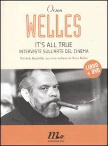 Festivalpatudocanario.es It's all true. Interviste sull'arte del cinema. Con DVD Image