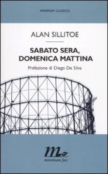 Sabato sera, domenica mattina - Alan Sillitoe - copertina