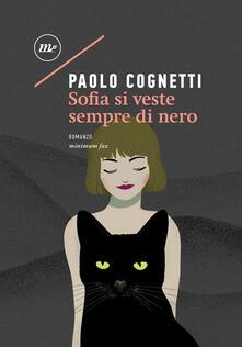 Sofia si veste sempre di nero - Paolo Cognetti - ebook