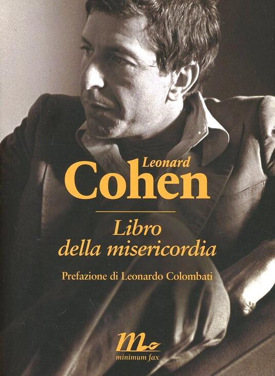Libro della misericordia. Testo inglese a fronte - Leonard Cohen - copertina