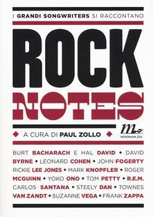 Tegliowinterrun.it Rock notes. I grandi songwriters si raccontano Image