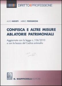 Confisca e altre misure ablatorie patrimoniali