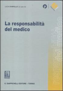 La responsabilità del medico