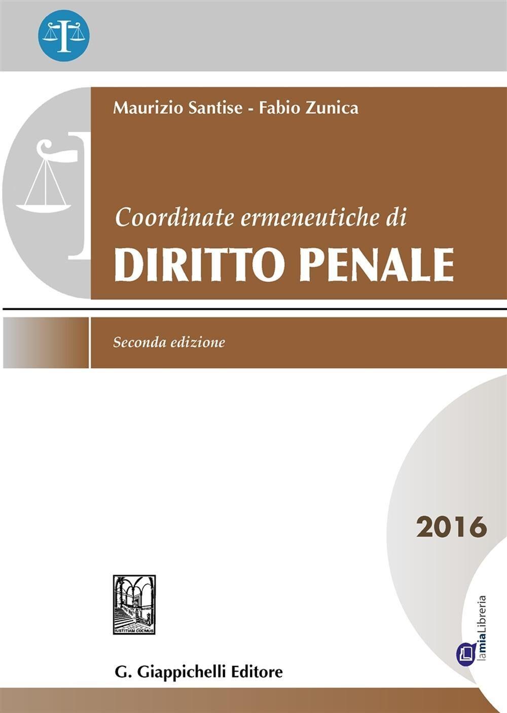 Coordinate ermeneutiche di diritto penale