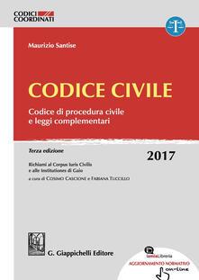 Filmarelalterita.it Codice civile. Codice di procedura civile e leggi complementari. Con aggiornamento online Image