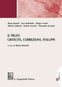 Libro Il trust: criticità, correzioni, sviluppi