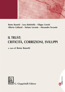 Criticalwinenotav.it Il trust: criticità, correzioni, sviluppi Image