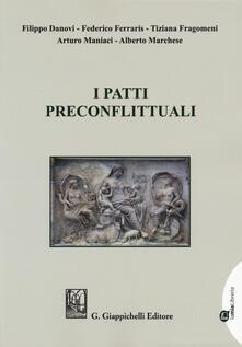 I patti preconflittuali.pdf
