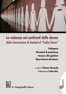 Lpgcsostenible.es La violenza nei confronti delle donne dalla Convenzione di Istanbul al «Codice Rosso» Image