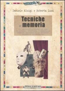 Squillogame.it Tecniche di memoria. Un manuale pratico ad uso di attori, studenti e chiunque voglia potenziare le proprie capacità mnemoniche Image