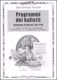 Programmi dei balletti. Selezione di libretti 1751-1776
