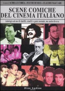 Scene comiche del cinema italiano - copertina