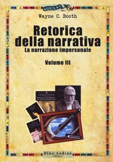 Lpgcsostenible.es Retorica della narrativa. Vol. 3: La narrazione impersonale. Image