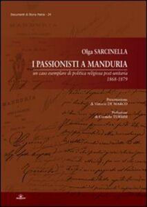 I passionisti a Manduria
