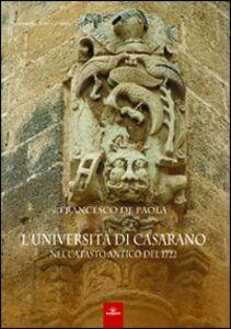 L' Università di Casarano nel catasto antico del 1722