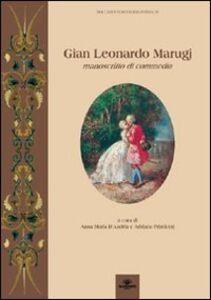 Gian Leonardo Marugi. Manoscritti di commedia