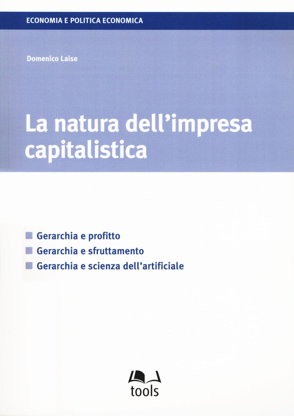 La natura dell'impresa capitalistica