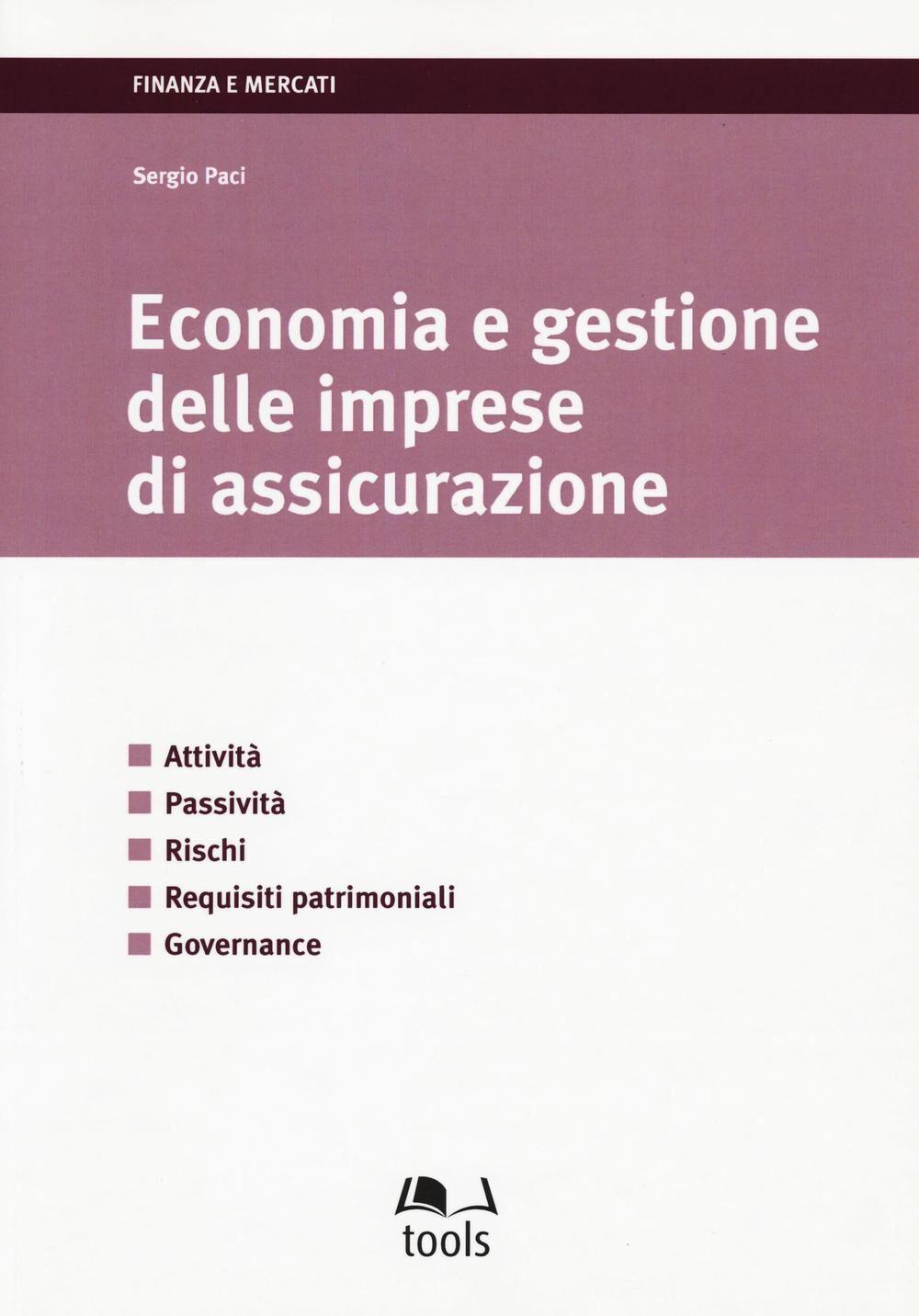 Economia gestione delle imprese di assicurazione