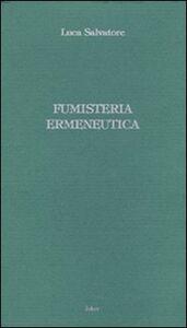 Fumisteria ermeneutica