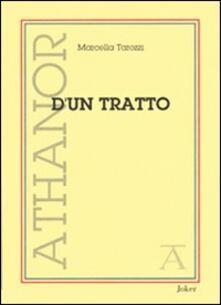 D'un tratto - Marcella Tarozzi Goldsmith - copertina