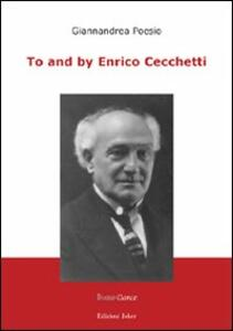To and by Enrico Cecchetti