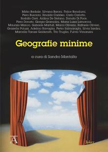 Geografie minime - copertina