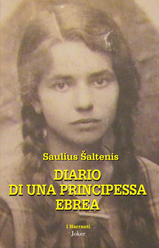 Diario di una principessa ebrea - Saulius Saltenis - copertina