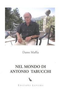 Nel mondo di Antonio Tabucchi