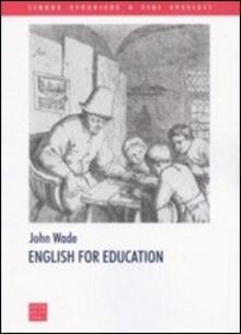 Parcoarenas.it English for education Image