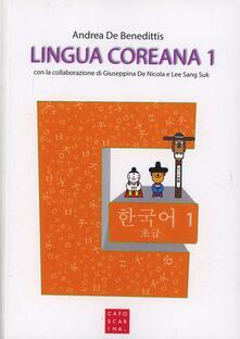 Lingua coreana. Con CD Audio. Vol. 1.pdf