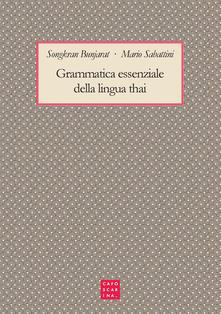Aboutschuster.de Grammatica essenziale della lingua thai Image