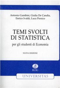 Temi svolti di statistica