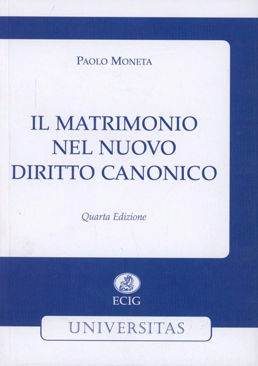 Il matrimonio nel nuovo diritto canonico