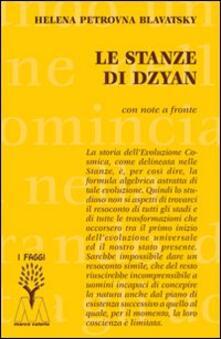 Le stanze di Dzyan - Helena P. Blavatsky - copertina