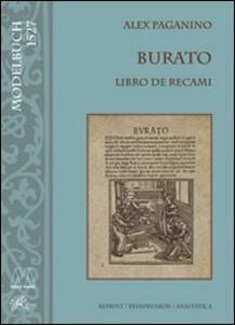 Burato. Libro di recami (rist. anast.)