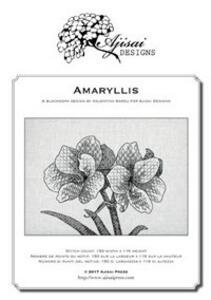 Amaryllis. A blackwork design. Ediz. italiana, inglese e francese