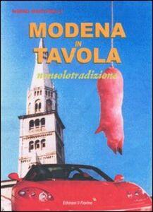 Modena in tavola. Nonsolotradizione