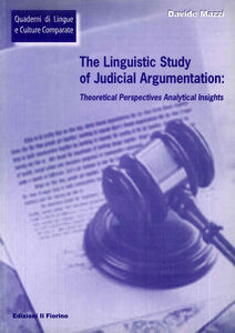 The linguistic study of judicial argumentation