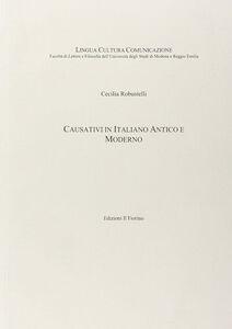 Causativi in italiano antico e moderno