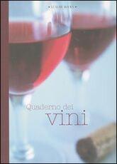 Libro Quaderno dei vini