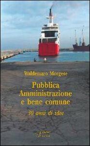 Pubblica amministrazione e bene comune. Trent'anni di idee