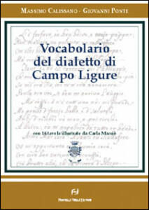 Vocabolario del dialetto di Campo Ligure