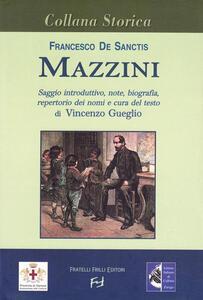 Libro Mazzini Francesco De Sanctis