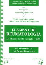 Elementi di reumatologia
