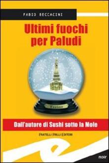 Ultimi fuochi per Paludi - Fabio Beccacini - copertina